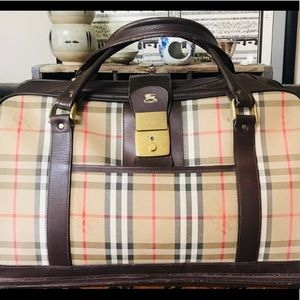 Burberry Vintage Overnight Bag